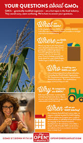 real answers about gmos cereals infographic your questions about gmos infographic