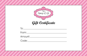 gift certificate templates to print activity shelter gift certificate template for girls