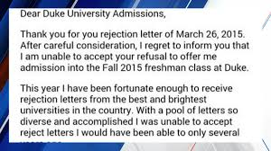 teen s rejection of college rejection letter goes viral fox
