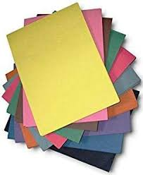 A4 <b>Coloured Sugar</b> Paper - 60 Sheets of Mix Assorted Colours ...