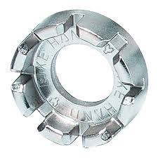 <b>Ключ</b> для спиц <b>BIKEHAND</b> YC-8A сталь, 8 размеров: 10/11/12/13 ...