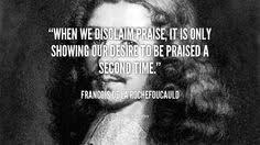 Francois Duc de la Rochefoucauld on Pinterest | Finding Peace ... via Relatably.com