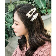 <b>M MISM 2019</b> New Big Size Pearls Hair Clips For Women Fashion ...
