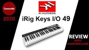 <b>IK Multimedia iRig Keys</b> I/O 49 HONEST Review - YouTube