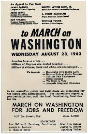 「March on Washington for Jobs and Freedom」の画像検索結果