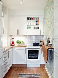 small space kitchen ideas: soft feminine and sunny  soft feminine sunny small kitchen design homebnc