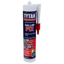 <b>Монтажный клей Tytan</b> Gallop Fix цвет белый 290 мл в Санкт ...