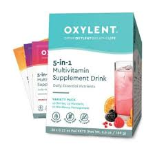 <b>Oxylent Multivitamin Supplement Drink</b> Variety Pack (30 Day)