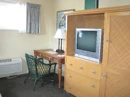 <b>Sitting</b> area TV & mini <b>kitchen armoire</b> - Picture of Seaway Inn, Santa ...