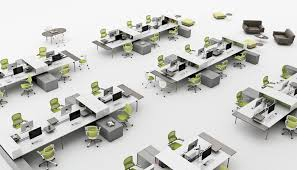open plan design and planning knoll cad office space layout