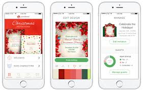 punchbowl reg unveils state of the art ios app launches holiday punchbowl unveils state of the art app for online invitationsnew ios app packed gorgeous online invitations powerful features for party