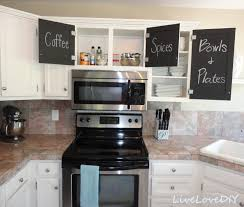 Kitchen Cabinet Makeover Diy Kitchen Cabinet Chalk Paint Makeover Creative Home