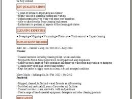 breakupus marvelous resume examples best update simple completed breakupus fascinating example of resume for cleaning job executiveresumesamplecom appealing example of resume for cleaning