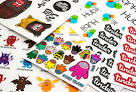 Images & Illustrations of sticker