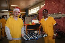 Detention Center inmates <b>double</b> as elves in <b>Santa's</b> workshop |