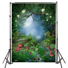 <b>Cartoon</b> Forest Tree House <b>Photo Background</b> Backdrop – Celehomey