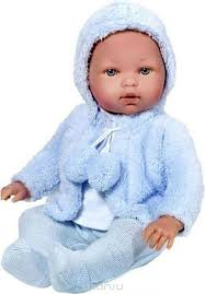 Купить <b>Vestida de Azul</b> Кукла Тонино в голубой шубке озвученная ...