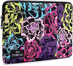 DOMISO 14 Inch Laptop Sleeve Case Canvas Fabric ... - Amazon.com
