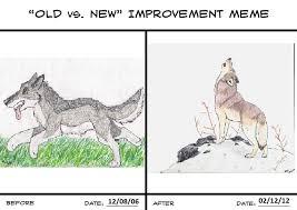 Old vs. New Improvement Meme by crossed-fingers on DeviantArt via Relatably.com
