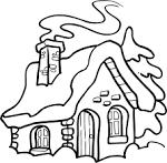 Раскраски дома внутри