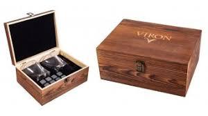 Купить <b>Набор для виски Viron</b> на 2 персоны в деревяном ...