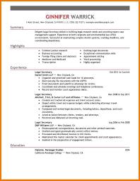 legal secretary resume assistant cover letter related for 8 legal secretary resume
