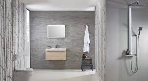 rhodes pursuit mm bathroom vanity unit: cypher cypher  wall mounted unit light elm roomset