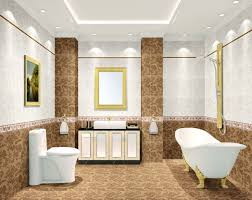 bathroom floor ceiling ideas