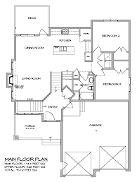 images about Home Plans on Pinterest   Custom Home Builders    This sq  ft  custom built modified bi level features floor to ceiling