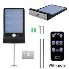 <b>48 / 36 LED Solar</b> Powered PIR Motion Sensor Wall Security <b>Light</b> ...