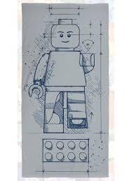 <b>Полотенце LEGO</b> Iconic Sketch <b>Lego</b>. 10735974 в интернет ...