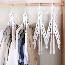 Creative Folding <b>Multifunctional</b> Magic Clothes Hanger Sale, Price ...