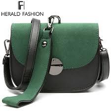 Herald <b>Fashion</b> Scrub <b>Women Handbag</b> Panelled Shoulder <b>Bag</b> ...