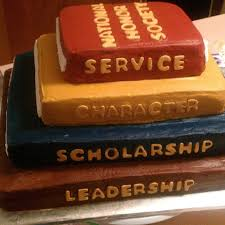 national honor society cookie connection cookies graduation national honor society induction cake a parent said she actually thought it was a stack
