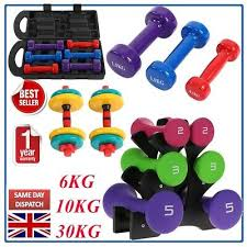 6KG10/<b>20KG/30kg</b> Dumbbell Set with Stand | <b>Free</b> Weights Weight ...