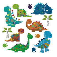 Cute <b>Dinosaur Iron on Transfer</b> Patches Washable DIY Kids ...