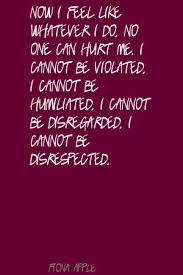 Famous quotes about 'Disrespected' - QuotationOf . COM via Relatably.com