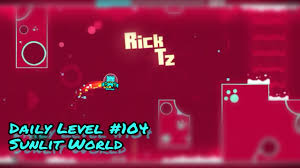 daily level sunlit world ll by jefry kawaii all coins daily level 104 sunlit world ll by jefry kawaii all coins geometry dash 2 1 jauzg