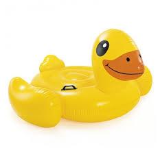 <b>Надувная игрушка</b>-наездник <b>Intex Утка</b> 57556 — купить по ...