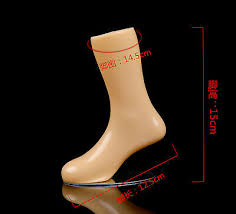 "<b>New 1Pc</b> 6"" <b>Kids</b> Mannequin Feet Plastic Stand <b>Children</b> Socks Part ..."
