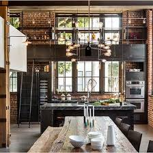 kitchen cabinets industrial feel