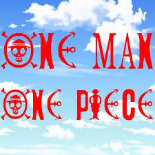 One Man, One Piece