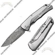 <b>Складной нож</b> Lion Steel TRE-DT GY Titanium Chad Nichols <b>Thor</b> ...