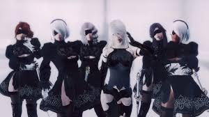 GK <b>YoRHa</b> Followers - from <b>NieR Automata</b> - at Skyrim Nexus ...
