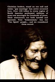 Gay Marriage in Native American Cultures | Race + Ethnicity // I ...