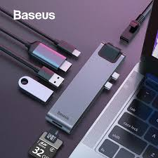 Baseus <b>USB HUB C HUB</b> to Multi <b>USB 3.0</b> HDMI Adapter <b>USB</b> ...