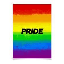 "Плакат A3(29.7x42) ""Pride"" #2779753 от ualluon - <b>Printio</b>"