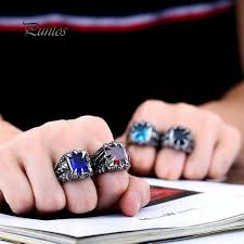 Cool Ring Claw <b>Square</b> Men's <b>Halloween Gothic</b> Ring-buy at a low ...