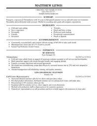 Best Experienced Telemarketer Resume Example   LiveCareer LiveCareer More Experienced Telemarketer Resume Examples