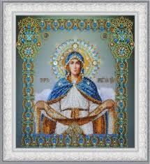 <b>Набор</b> Р-403 <b>вышивания Иконы</b> Покров Пресвятой Богородицы ...